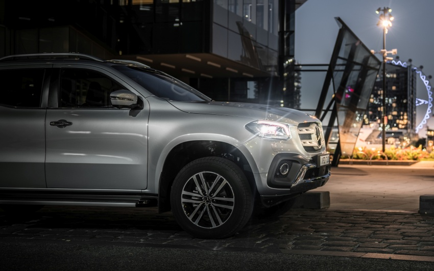 Mercedes-Benz X-Class launched in Australia – MBM confirms no plans to introduce pick-up in Malaysia Image #806530