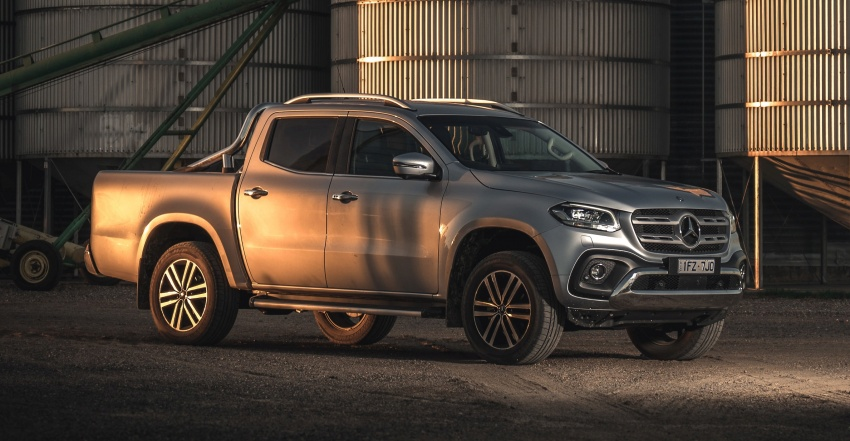 Mercedes-Benz X-Class launched in Australia – MBM confirms no plans to introduce pick-up in Malaysia Image #806511