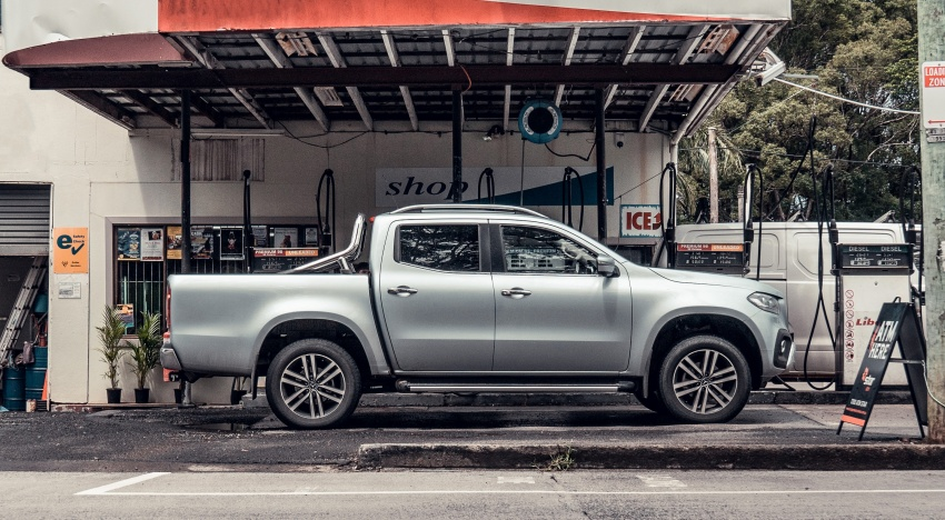 Mercedes-Benz X-Class launched in Australia – MBM confirms no plans to introduce pick-up in Malaysia Image #806518