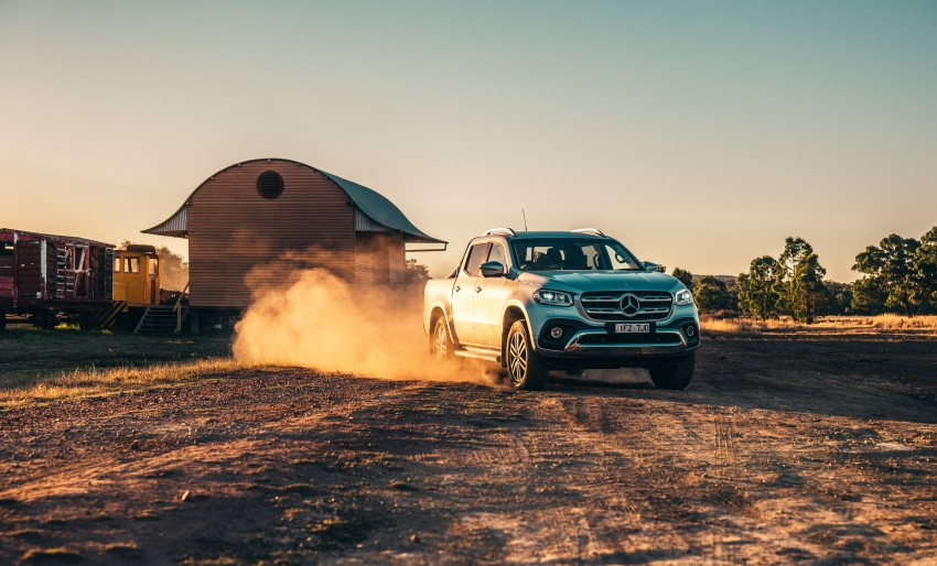 Mercedes-Benz X-Class launched in Australia – MBM confirms no plans to introduce pick-up in Malaysia Image #806544