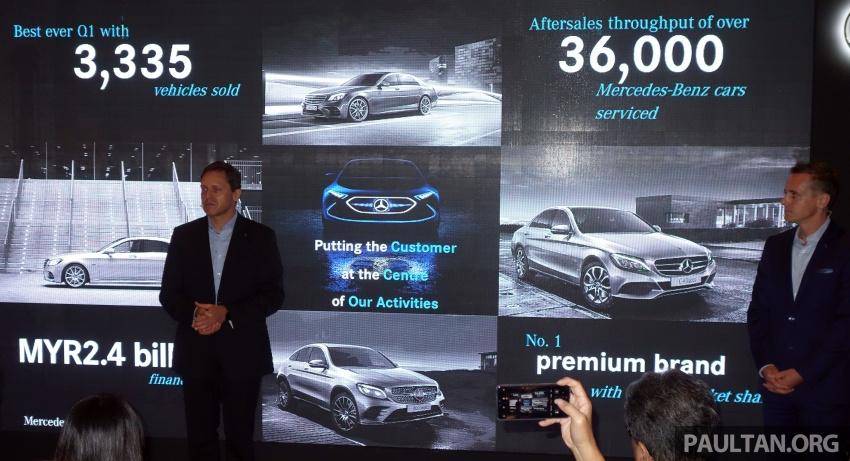 Mercedes-Benz Malaysia catat rekod jualan Q1 terbaik setakat ini – 3,335 unit terjual, peningkatan 13.2% Image #805748