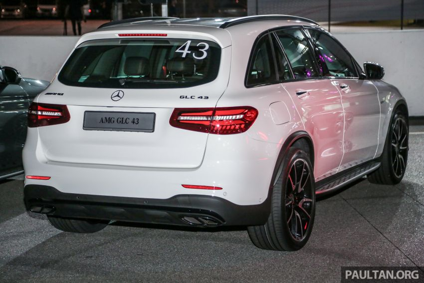 Mercedes-AMG C43 Sedan and GLC43 CKD now in M'sia – from RM409k and RM469k; up to RM91k less Image #811541