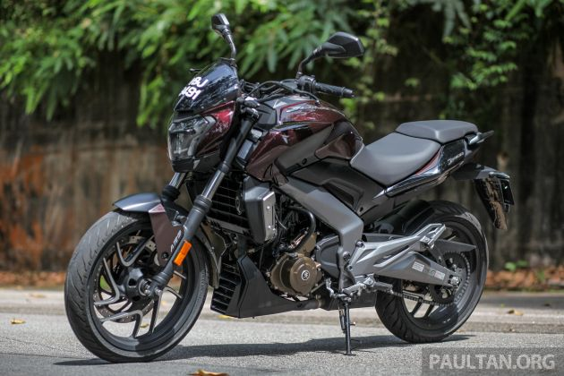 FIRST RIDE: 2018 Modenas Dominar 400 - 373 cc, 35 PS, 35 Nm