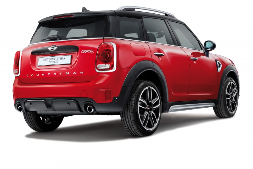 MINI Cooper S Countryman Sports launched – CKD, John Cooper Works aerokit and wheels, RM245,888 Image #802998