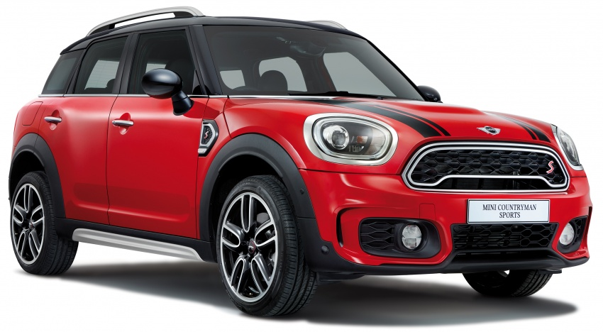 MINI Cooper S Countryman Sports launched – CKD, John Cooper Works aerokit and wheels, RM245,888 Image #802999