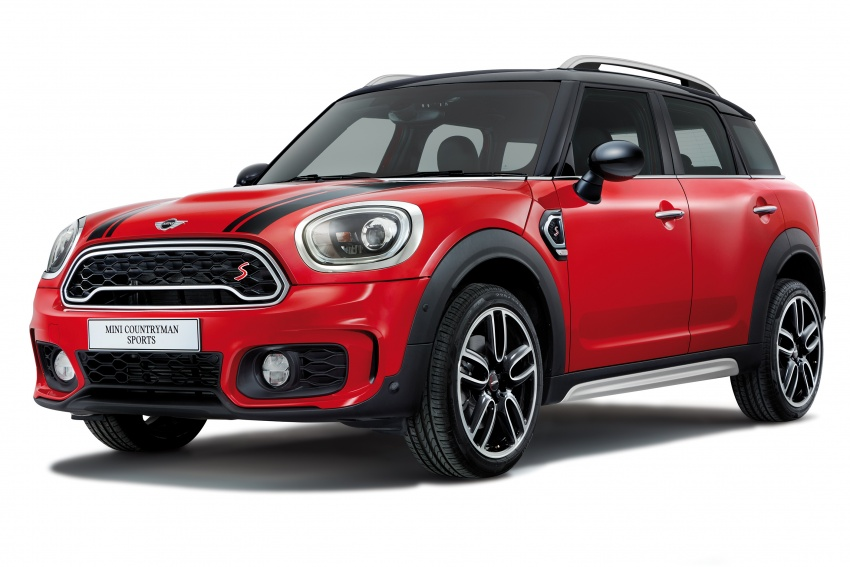 MINI Cooper S Countryman Sports launched – CKD, John Cooper Works aerokit and wheels, RM245,888 Image #803000