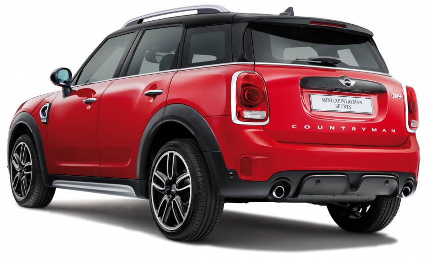 MINI Cooper S Countryman Sports launched – CKD, John Cooper Works aerokit and wheels, RM245,888 Image #803002