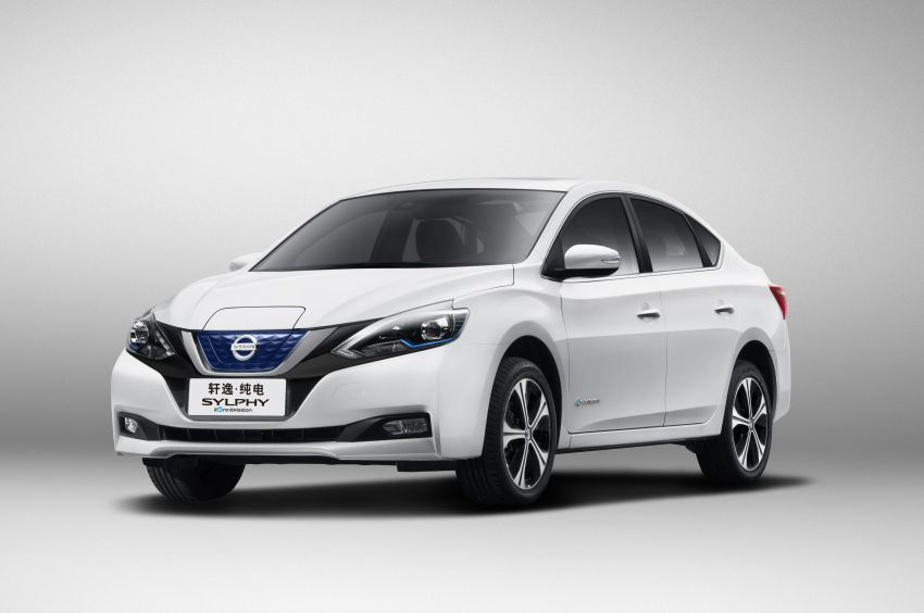 Nissan Sylphy Zero Emission debuts – built for China Image #810761