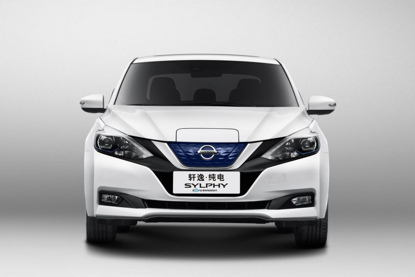 Nissan Sylphy Zero Emission debuts – built for China Image #810770