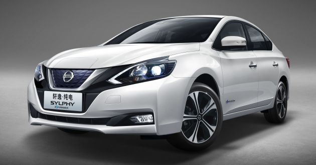 Nissan Sylphy Zero Emission debuts - built for China