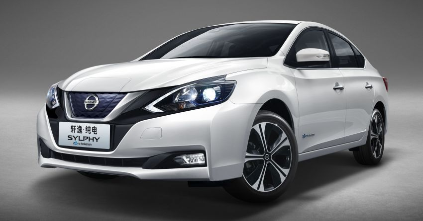 Nissan Sylphy Zero Emission debuts – built for China Image #810771