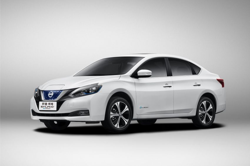 Nissan Sylphy Zero Emission debuts – built for China Image #810762