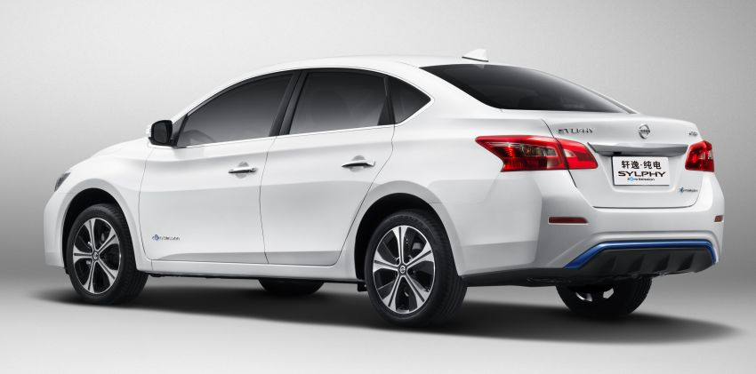 Nissan Sylphy Zero Emission debuts – built for China Image #810764
