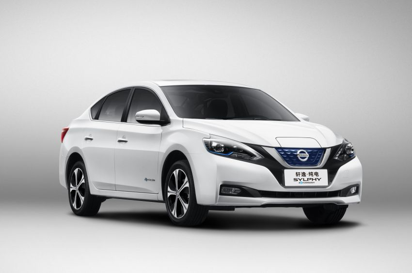 Nissan Sylphy Zero Emission debuts – built for China Image #810769