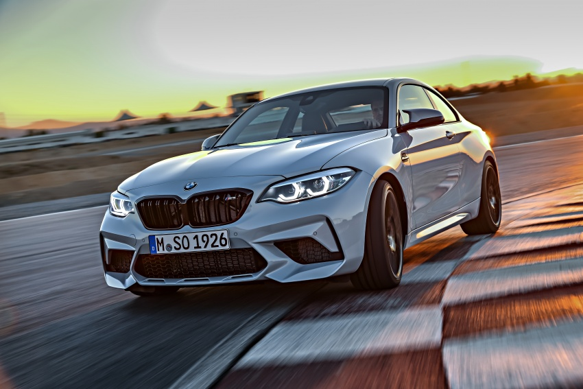 BMW M2 Competition debuts – 410 hp biturbo engine Image #807902