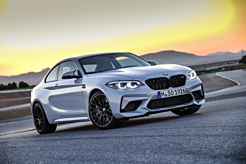 BMW M2 Competition debuts – 410 hp biturbo engine Image #807903