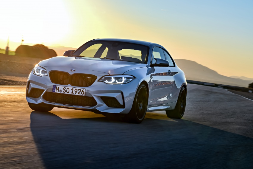 BMW M2 Competition debuts – 410 hp biturbo engine Image #807905