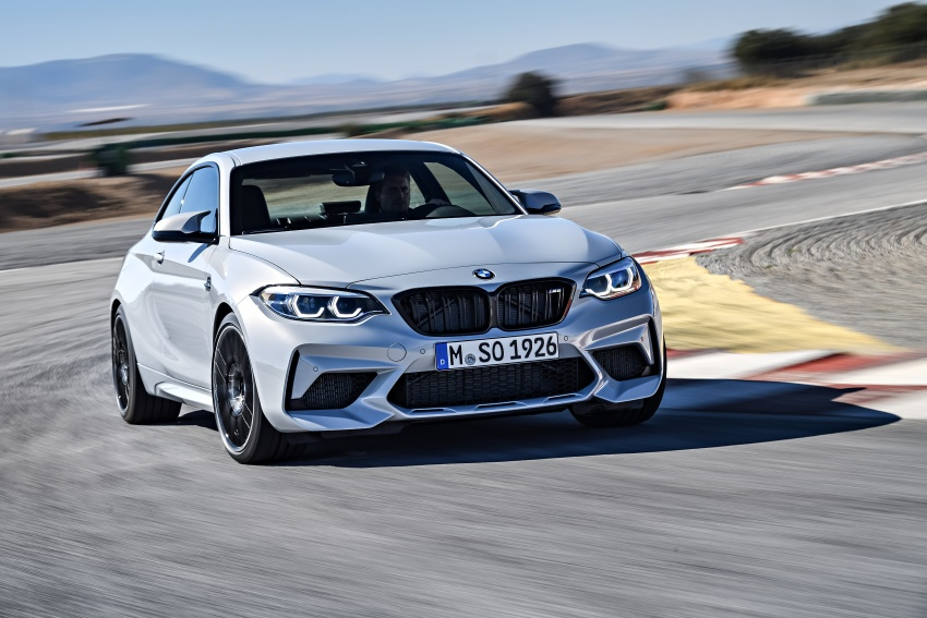 BMW M2 Competition debuts – 410 hp biturbo engine Image #807906