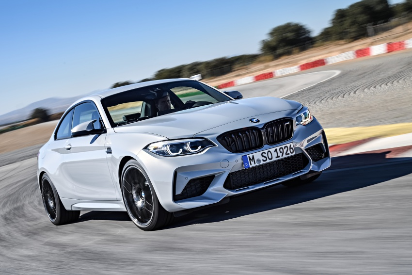 BMW M2 Competition debuts – 410 hp biturbo engine Image #807907