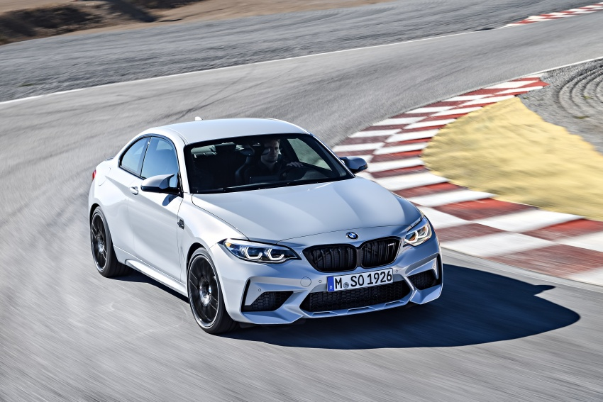 BMW M2 Competition debuts – 410 hp biturbo engine Image #807908