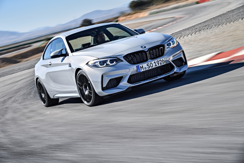 BMW M2 Competition debuts – 410 hp biturbo engine Image #807909