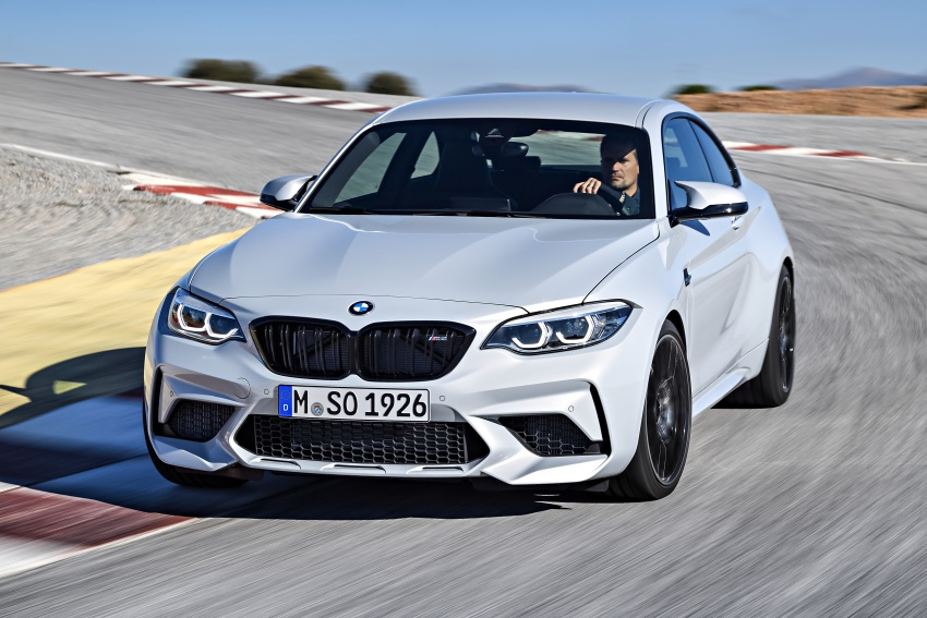BMW M2 Competition debuts – 410 hp biturbo engine Image #807910