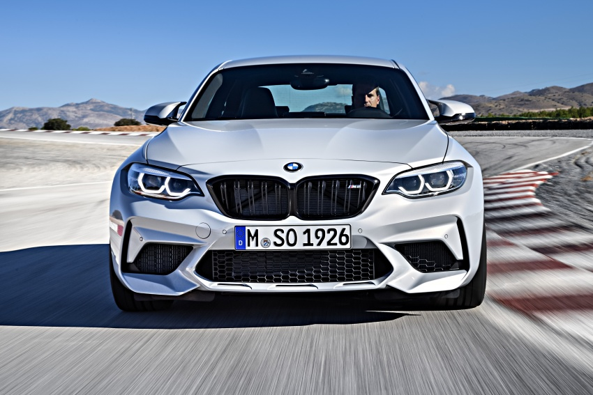 BMW M2 Competition debuts – 410 hp biturbo engine Image #807911