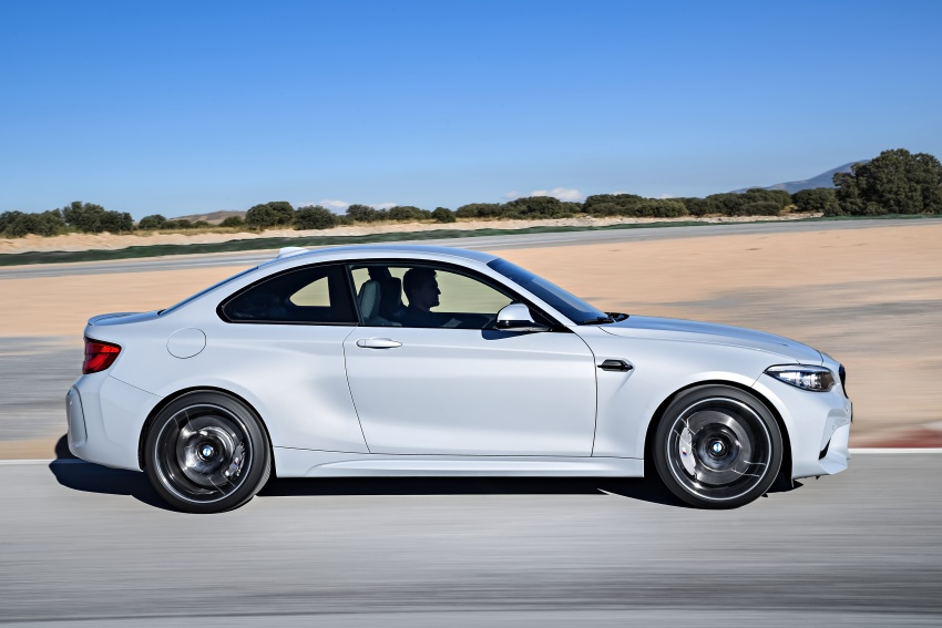 BMW M2 Competition debuts – 410 hp biturbo engine Image #807912