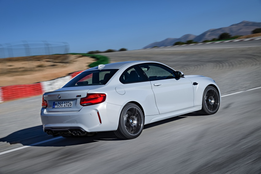 BMW M2 Competition debuts – 410 hp biturbo engine Image #807914