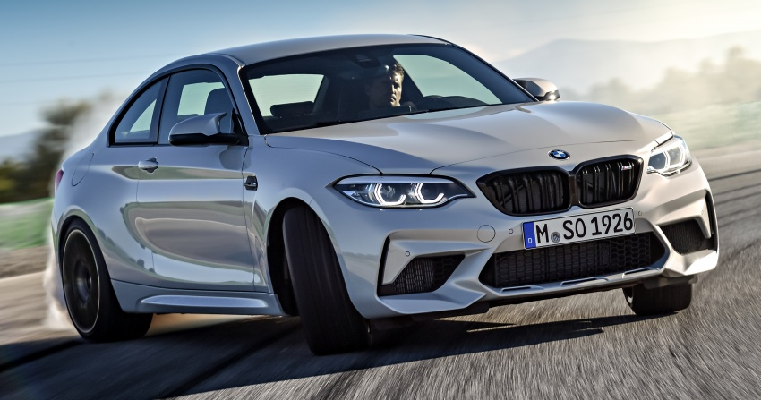 BMW M2 Competition debuts – 410 hp biturbo engine Image #807915