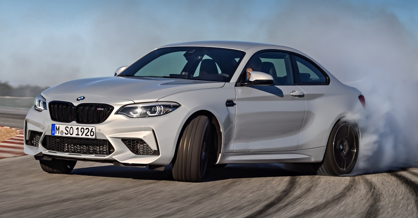 BMW M2 Competition debuts – 410 hp biturbo engine Image #807916