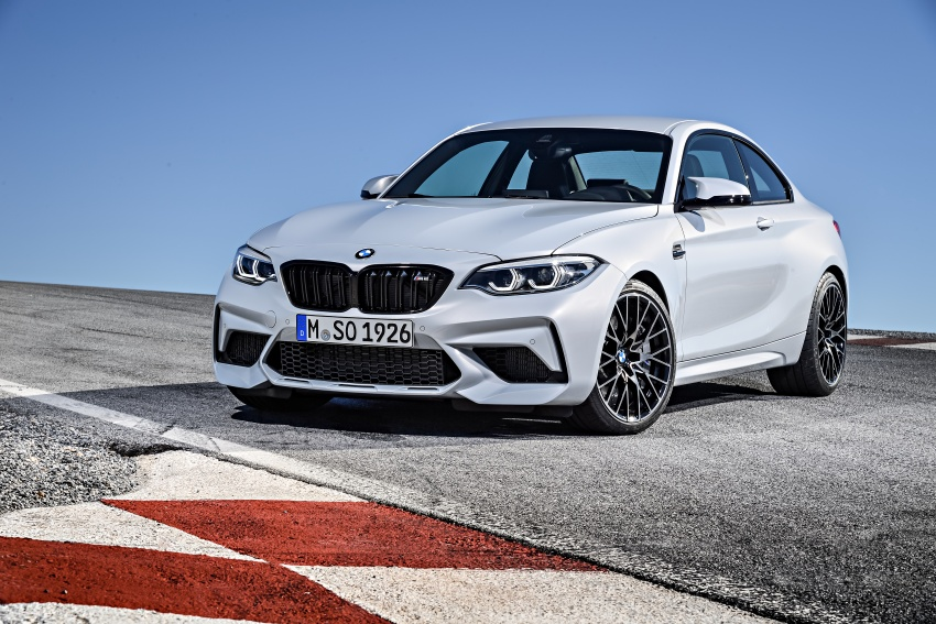 BMW M2 Competition debuts – 410 hp biturbo engine Image #807917