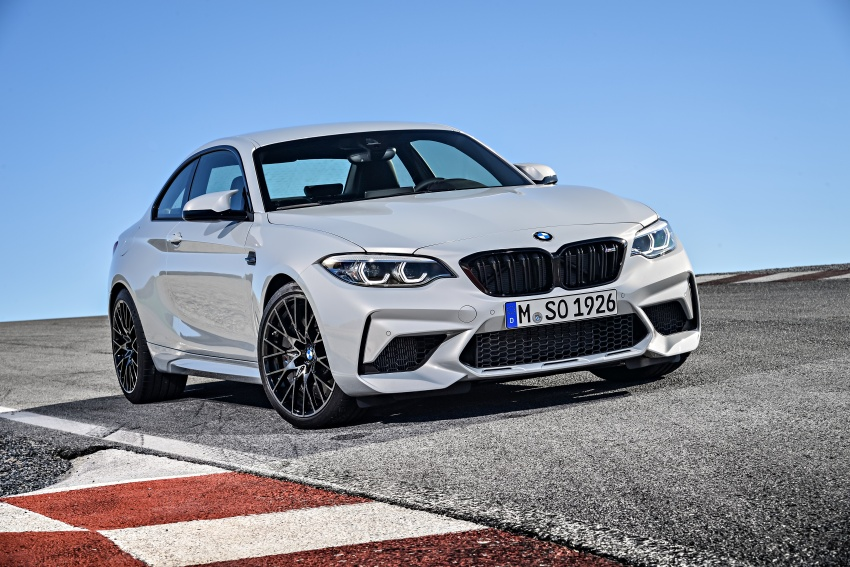 BMW M2 Competition debuts – 410 hp biturbo engine Image #807919