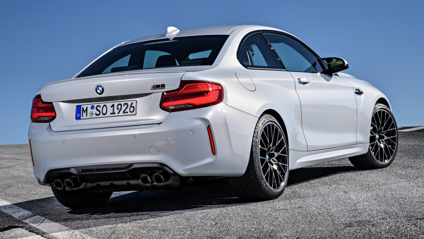 BMW M2 Competition debuts – 410 hp biturbo engine Image #807920