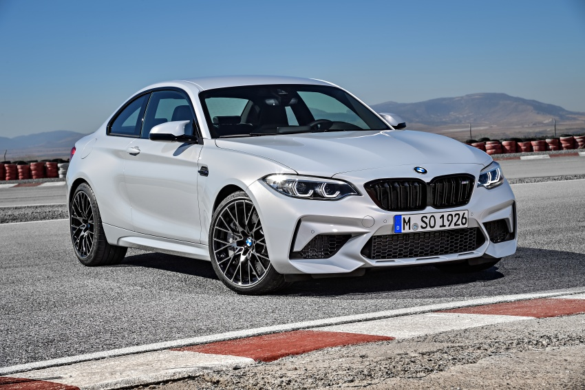 BMW M2 Competition debuts – 410 hp biturbo engine Image #807922