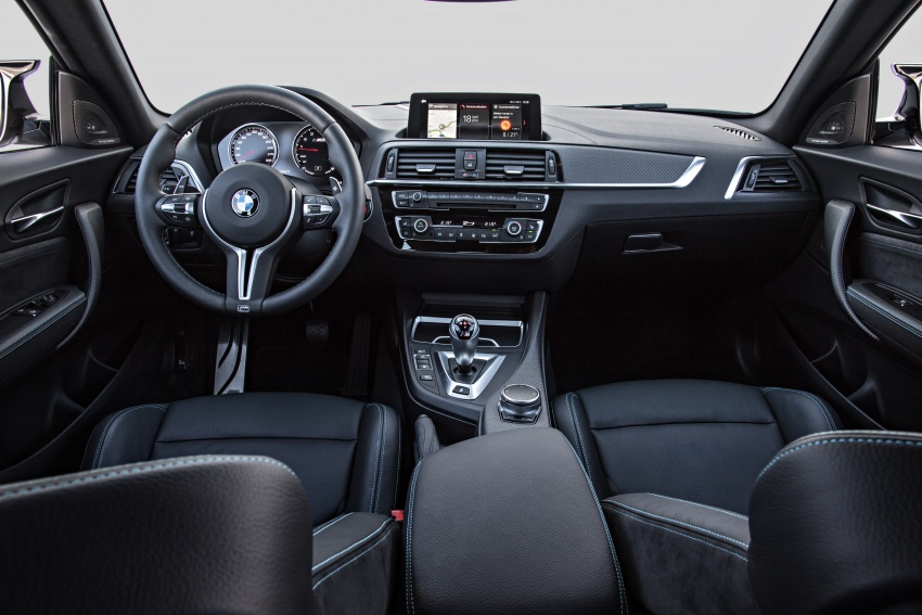 BMW M2 Competition debuts – 410 hp biturbo engine Image #807928