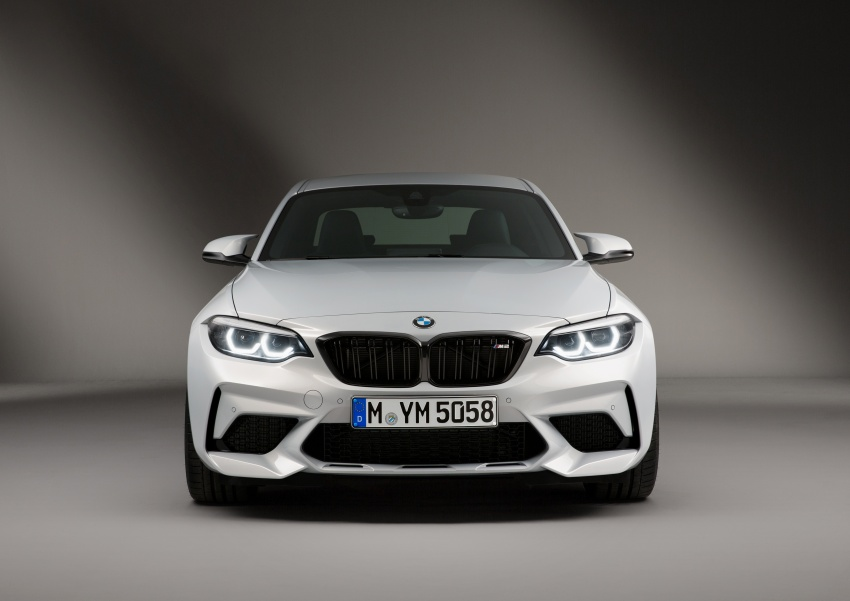 BMW M2 Competition debuts – 410 hp biturbo engine Image #807941