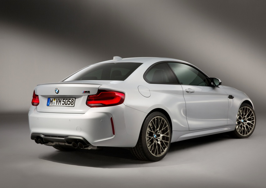 BMW M2 Competition debuts – 410 hp biturbo engine Image #807943