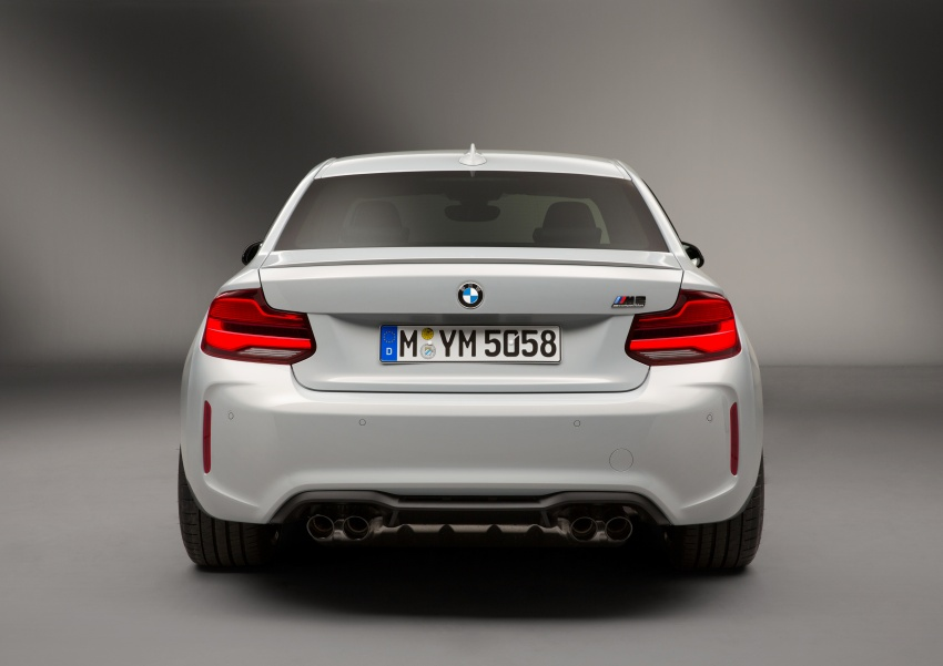 BMW M2 Competition debuts – 410 hp biturbo engine Image #807944