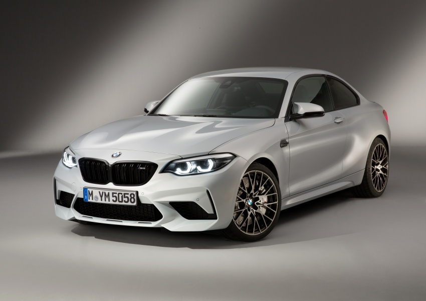 BMW M2 Competition debuts – 410 hp biturbo engine Image #807946