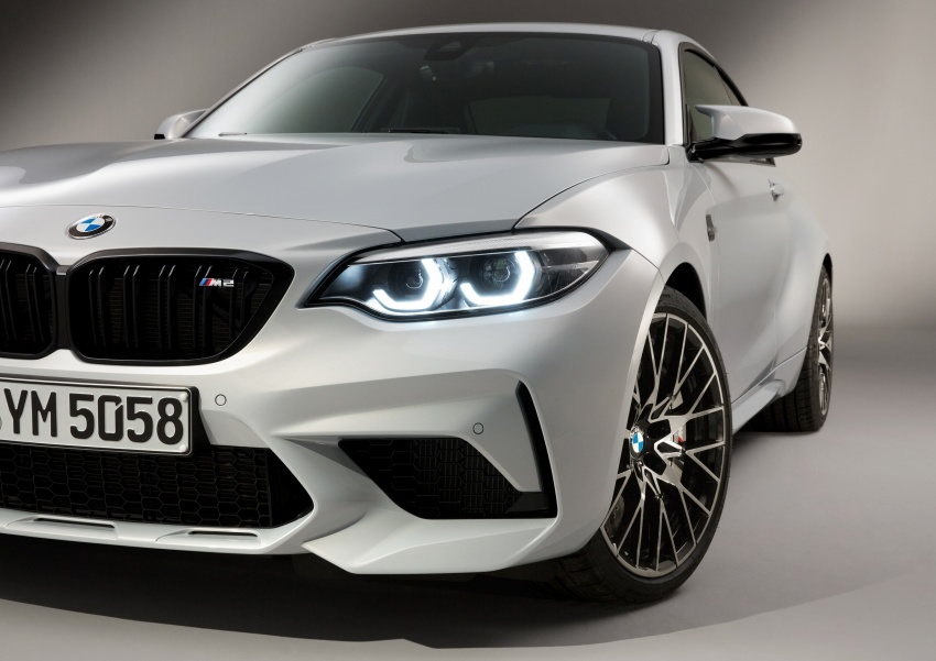 BMW M2 Competition debuts – 410 hp biturbo engine Image #807948