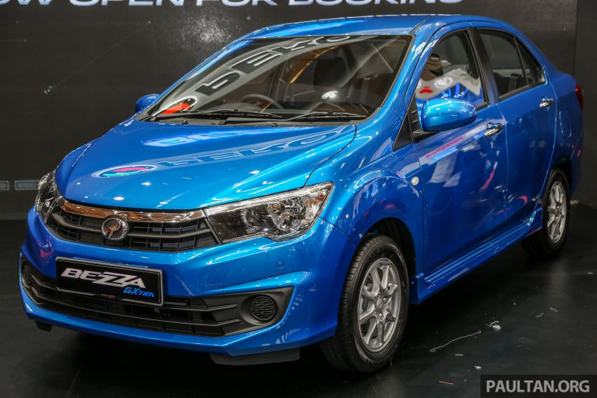 Perodua Bezza GXtra launched – replaces the 1.0 Standard G, more equipment but cheaper, fr RM35.5k Image #811987
