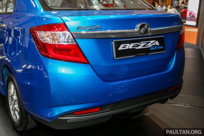 Perodua Bezza GXtra dilancarkan – lebih banyak elemen ditampilkan dan lebih murah, dari RM35.5k Image #811955