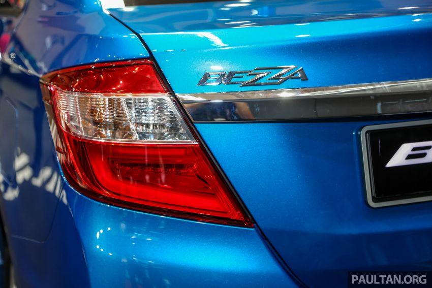 Perodua Bezza GXtra dilancarkan – lebih banyak elemen ditampilkan dan lebih murah, dari RM35.5k Image #811957