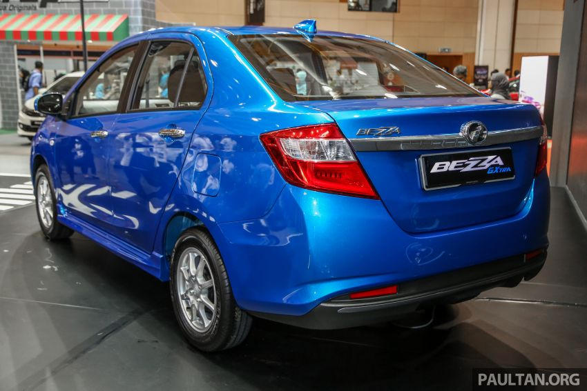 Perodua Bezza GXtra launched – replaces the 1.0 Standard G, more equipment but cheaper, fr RM35.5k Image #811988