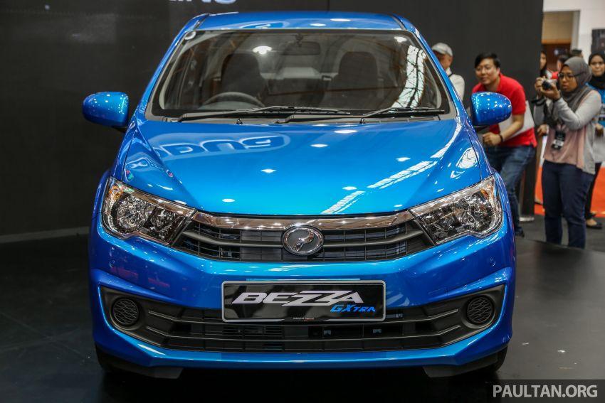 Perodua Bezza GXtra dilancarkan – lebih banyak elemen ditampilkan dan lebih murah, dari RM35.5k Image #811933