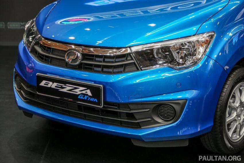 Perodua Bezza GXtra dilancarkan – lebih banyak elemen ditampilkan dan lebih murah, dari RM35.5k Image #811939