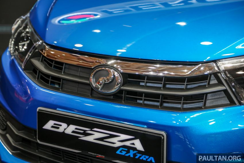 Perodua Bezza GXtra dilancarkan – lebih banyak elemen ditampilkan dan lebih murah, dari RM35.5k Image #811945