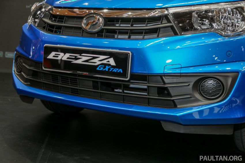 Perodua Bezza GXtra launched – replaces the 1.0 Standard G, more equipment but cheaper, fr RM35.5k Image #811996