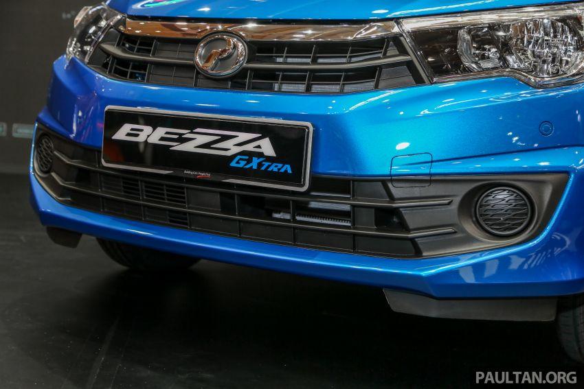 Perodua Bezza GXtra dilancarkan – lebih banyak elemen ditampilkan dan lebih murah, dari RM35.5k Image #811952
